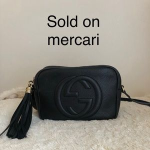SOLD*******Gucci soho disco bag